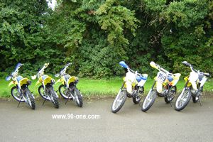 Off-road bike fleet
