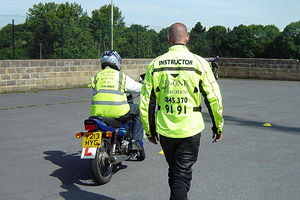 Practise for the Module 1 motorcycle test